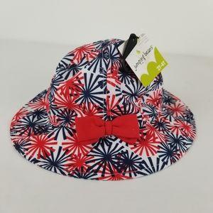 NWT Jumping Beans Kids UPF 50+ Sun Hat